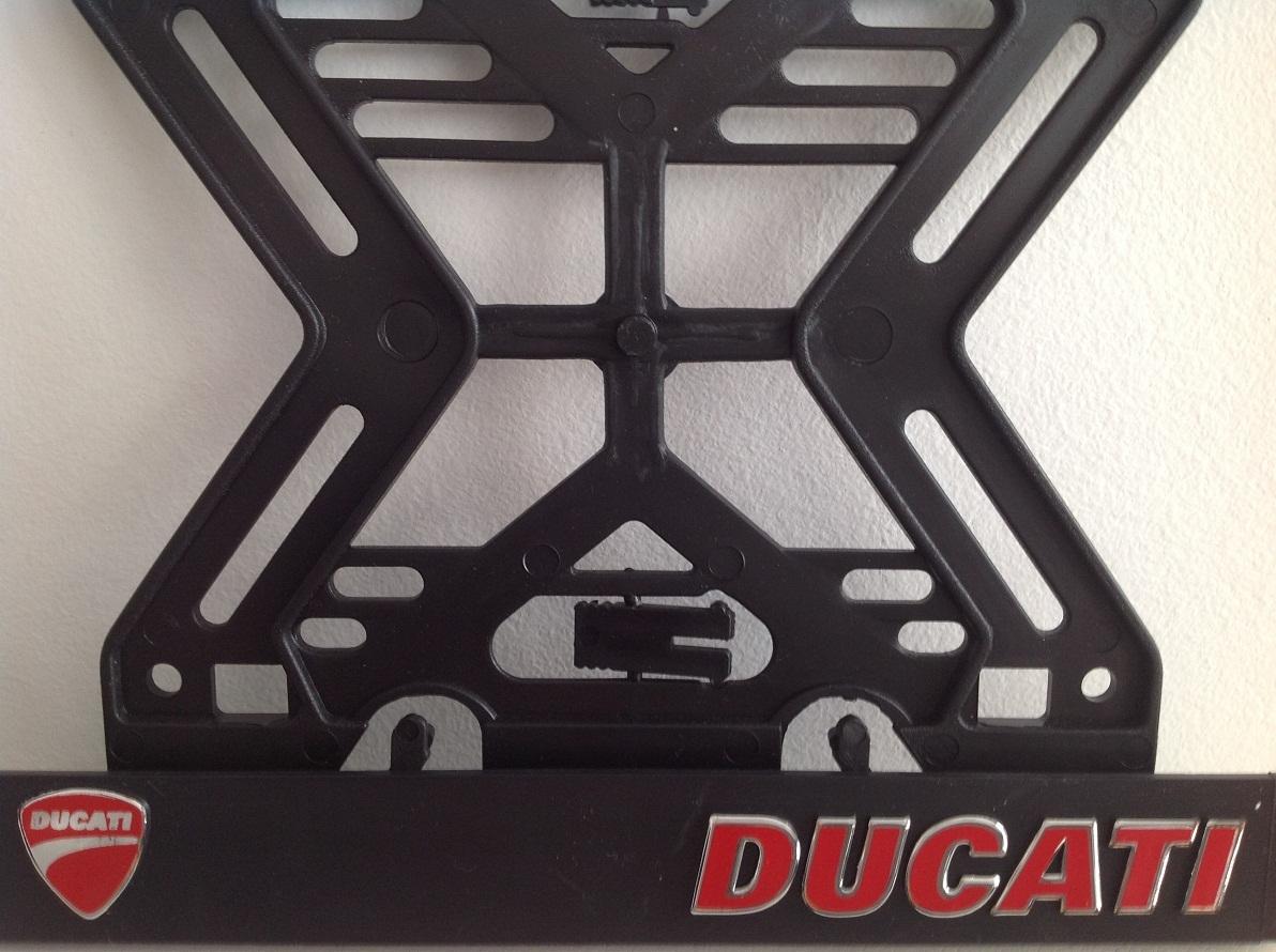 Podložka pod ŠPZ Moto Ducati